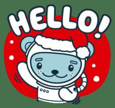 Christmas and Winter with Jokukuma sticker #8731930