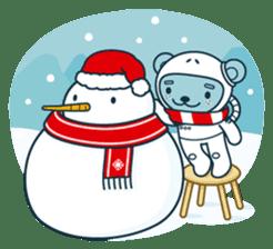 Christmas and Winter with Jokukuma sticker #8731931
