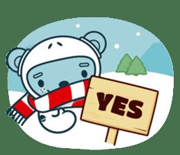 Christmas and Winter with Jokukuma sticker #8731935