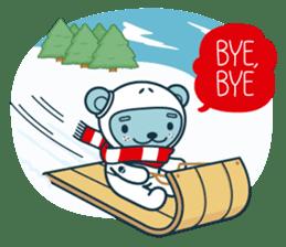 Christmas and Winter with Jokukuma sticker #8731939