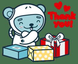 Christmas and Winter with Jokukuma sticker #8731941