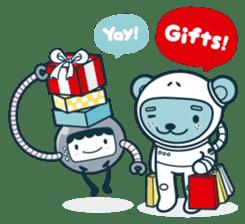 Christmas and Winter with Jokukuma sticker #8731944