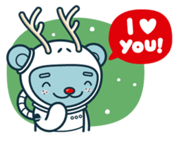 Christmas and Winter with Jokukuma sticker #8731945