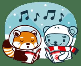 Christmas and Winter with Jokukuma sticker #8731947