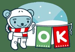Christmas and Winter with Jokukuma sticker #8731950