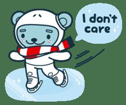 Christmas and Winter with Jokukuma sticker #8731953