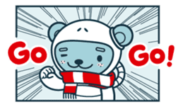 Christmas and Winter with Jokukuma sticker #8731957