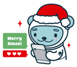 Christmas and Winter with Jokukuma sticker #8731961