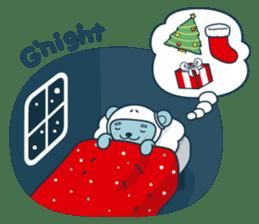 Christmas and Winter with Jokukuma sticker #8731962