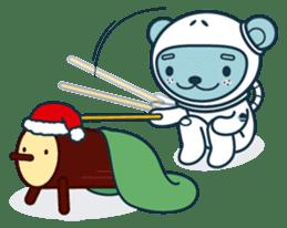 Christmas and Winter with Jokukuma sticker #8731968