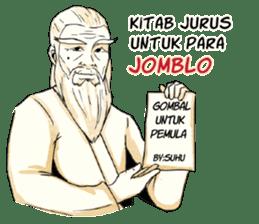 Pendekar Jomblo Nestapa sticker #8740043