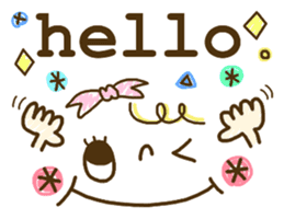 Cute emoticons. English Hen 2 sticker #8745259