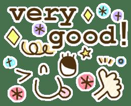 Cute emoticons. English Hen 2 sticker #8745261
