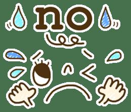 Cute emoticons. English Hen 2 sticker #8745263