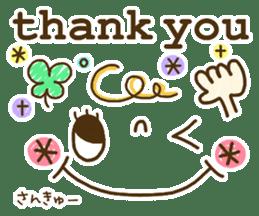 Cute emoticons. English Hen 2 sticker #8745265