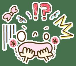 Cute emoticons. English Hen 2 sticker #8745266