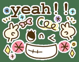 Cute emoticons. English Hen 2 sticker #8745267
