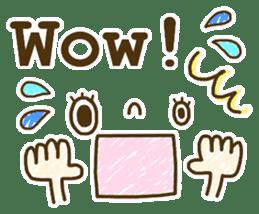 Cute emoticons. English Hen 2 sticker #8745273