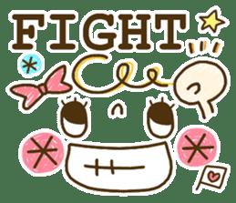Cute emoticons. English Hen 2 sticker #8745277