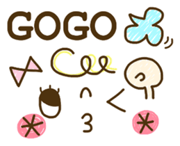 Cute emoticons. English Hen 2 sticker #8745280
