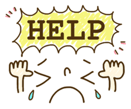 Cute emoticons. English Hen 2 sticker #8745281