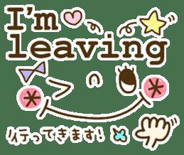 Cute emoticons. English Hen 2 sticker #8745282
