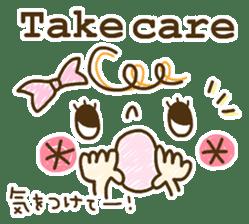 Cute emoticons. English Hen 2 sticker #8745283
