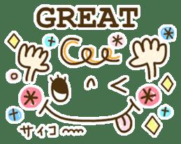 Cute emoticons. English Hen 2 sticker #8745287