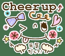 Cute emoticons. English Hen 2 sticker #8745290