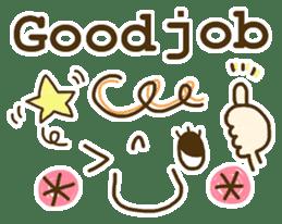 Cute emoticons. English Hen 2 sticker #8745292