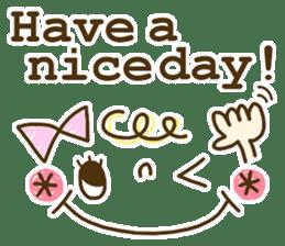 Cute emoticons. English Hen 2 sticker #8745294