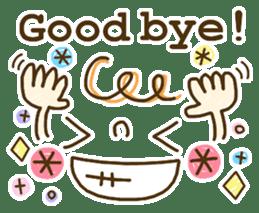 Cute emoticons. English Hen 2 sticker #8745296