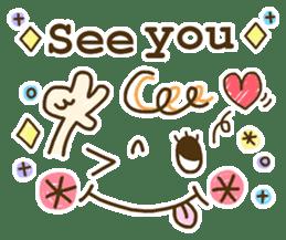Cute emoticons. English Hen 2 sticker #8745297