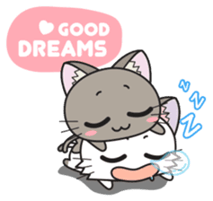 Hoshi & Luna Diary 7 sticker #8745736