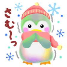 penguin pempem 14winter sticker #8746340