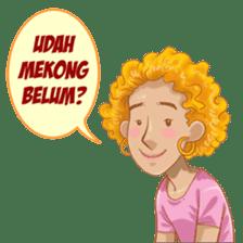 Isabela Artis Jalanan sticker #8747535