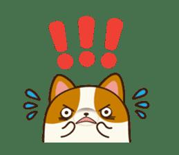 Plump Corgi Puipui sticker #8748188
