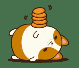 Plump Corgi Puipui sticker #8748202