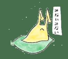 everyday slug sticker #8750829