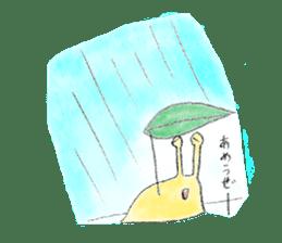 everyday slug sticker #8750835