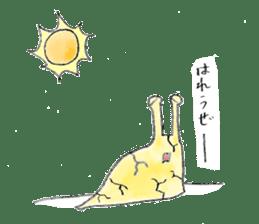everyday slug sticker #8750836