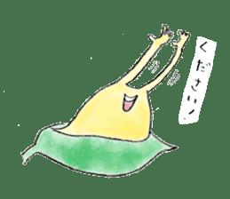 everyday slug sticker #8750838