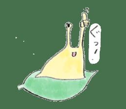 everyday slug sticker #8750843