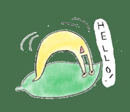 everyday slug sticker #8750847
