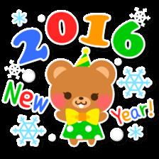 New Year Sticker2016 sticker #8755618