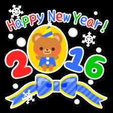 New Year Sticker2016 sticker #8755619