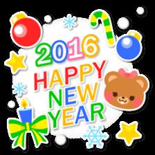 New Year Sticker2016 sticker #8755620