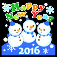 New Year Sticker2016 sticker #8755624