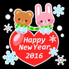 New Year Sticker2016 sticker #8755626