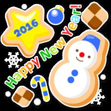 New Year Sticker2016 sticker #8755627